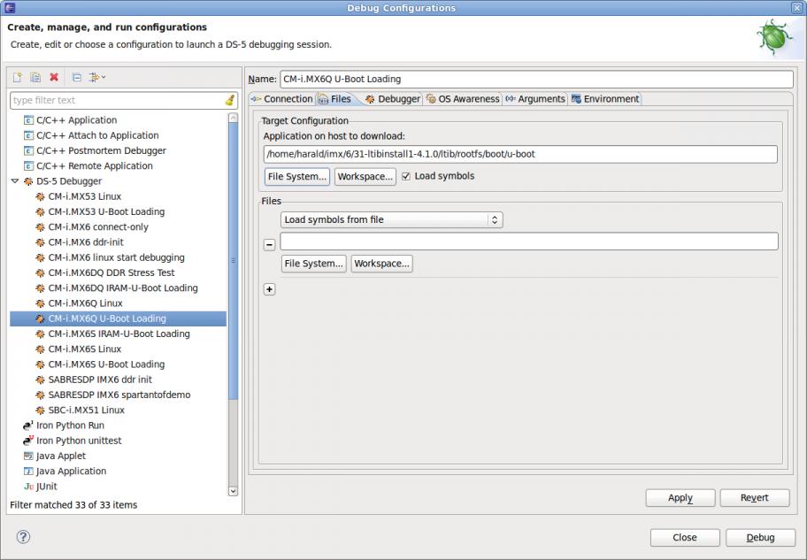 ARM DS-5 Quick Start (i MX6) - BlueWiki